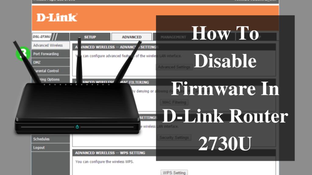 D Link Router 2730U